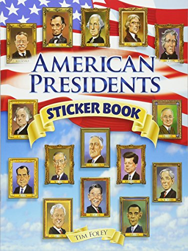 American Presidents Sticker Book (Dover Sticker Books)