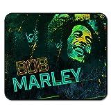 weed mouse pad - Bob Marley Weed Rasta Rasta Life Non-Slip Mouse Pad 24cm x 20cm | Wellcoda