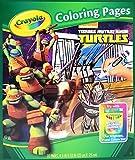 Crayola Teenage Mutant Ninja Turtles 32 Coloring Pages