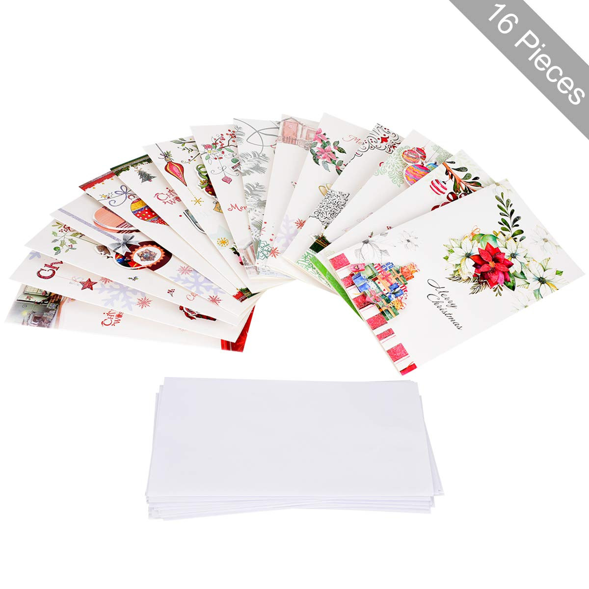 legendtech greeting cards merry christmas greeting cards with envelope in bulk greeting cards organizer for holiday - Bulk Greeting Cards