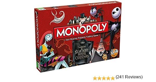 Monopoly The Nightmare Before Christmas - Inglés: Amazon.es: Juguetes y juegos