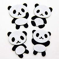 Aisoway Cortando Fieltro Panda Apliques Animales de la