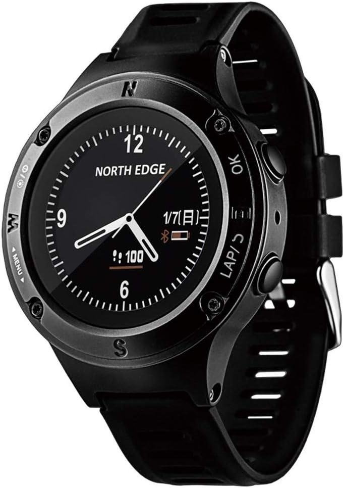 Smartwatches Reloj GPS Reloj Inteligente para Hombres Relojes Digitales Impermeable North Edge Reloj Deportivo Brújula LED Relojes de Pulsera Digitales Fourier2