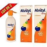 Alvityl - Forme Equilibre Vitalité - Solution Multivitaminée 150 ml - Lot de 2 Flacons