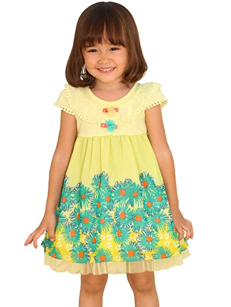 b6accf626c21 Amazon.com: Bonny Billy Baby Girls Dress Summer Beach Sundress: Clothing
