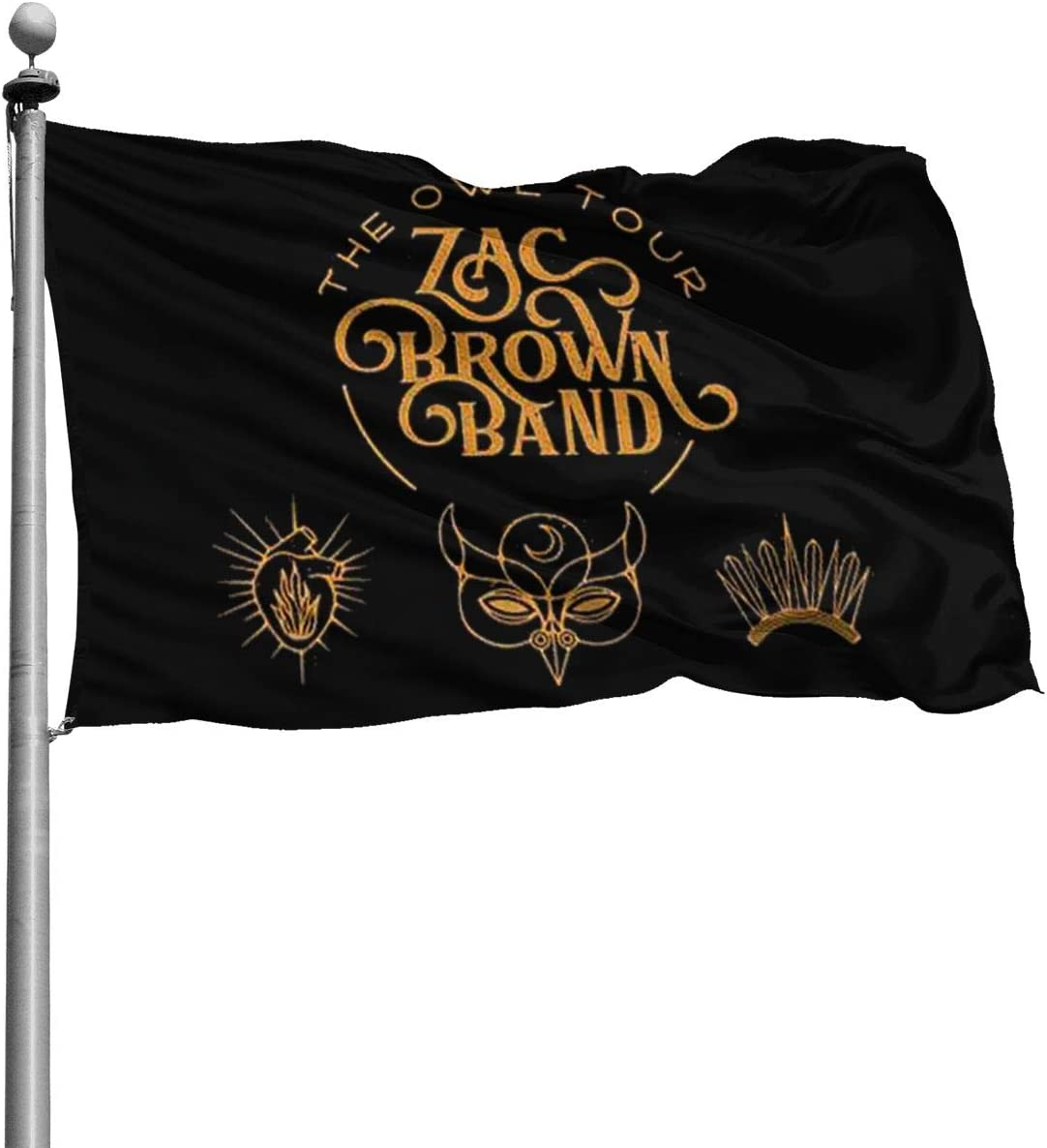 NOT Zac Brown Band Home Decoration Flag Garden Flag Indoor Outdoor Flag 4x6 Ft
