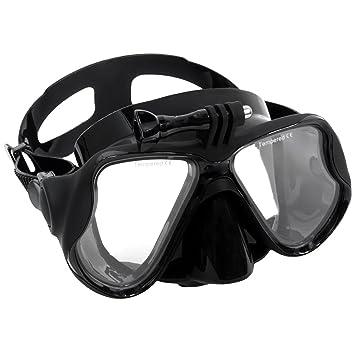 Adultos Hombres Mujeres del tubo respirador del equipo de submarinismo gafas de buceo con máscara de