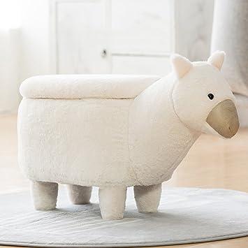 ✿Dreamer Kreativ Fußhocker Gehäuse] Storage Changing Shoes Hocker  Osmanischen Dekorative Möbel Kind] Pet