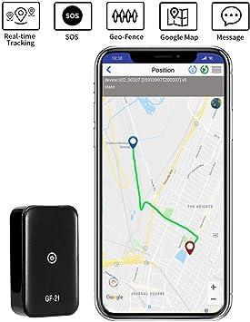 Rastreador GPS Mini Localizador GPS Portátil para Niños Niños Coche Perros Mayores: Amazon.es: Electrónica