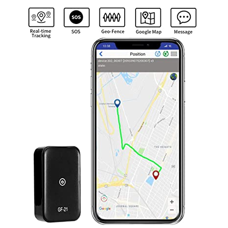 Amazon.com: Rastreador GPS Mini portátil antirrobo espía SOS ...