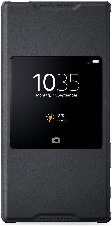Sony 1296-8757 - Funda con ventana para Sony Xperia Z5 Premium ...