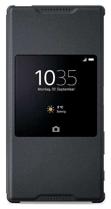 2 opinioni per Sony BT-SOSCR46B Style Cover Window per Xperia Z5 Premium, Nero
