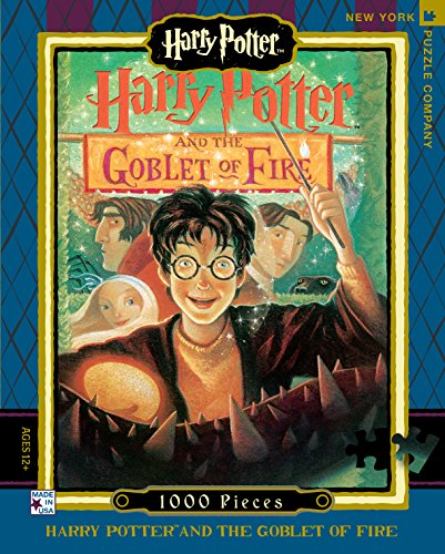 New York Puzzle Company - Harry Potter Goblet of Fire - 1000...