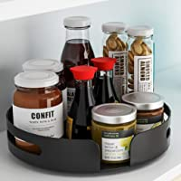 Pusdon Lazy Susan Turntable Organizer, 360 Degree Rotating Kitchen Spice Rack, Rotatable Storage Organizer for Cabinets…
