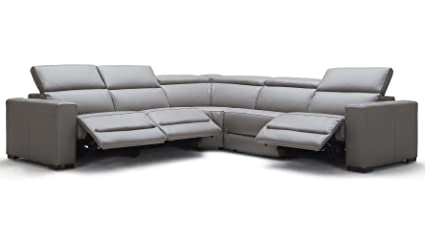 Amazon.com: Modern Mirage Reclining Sectional with Power ...
