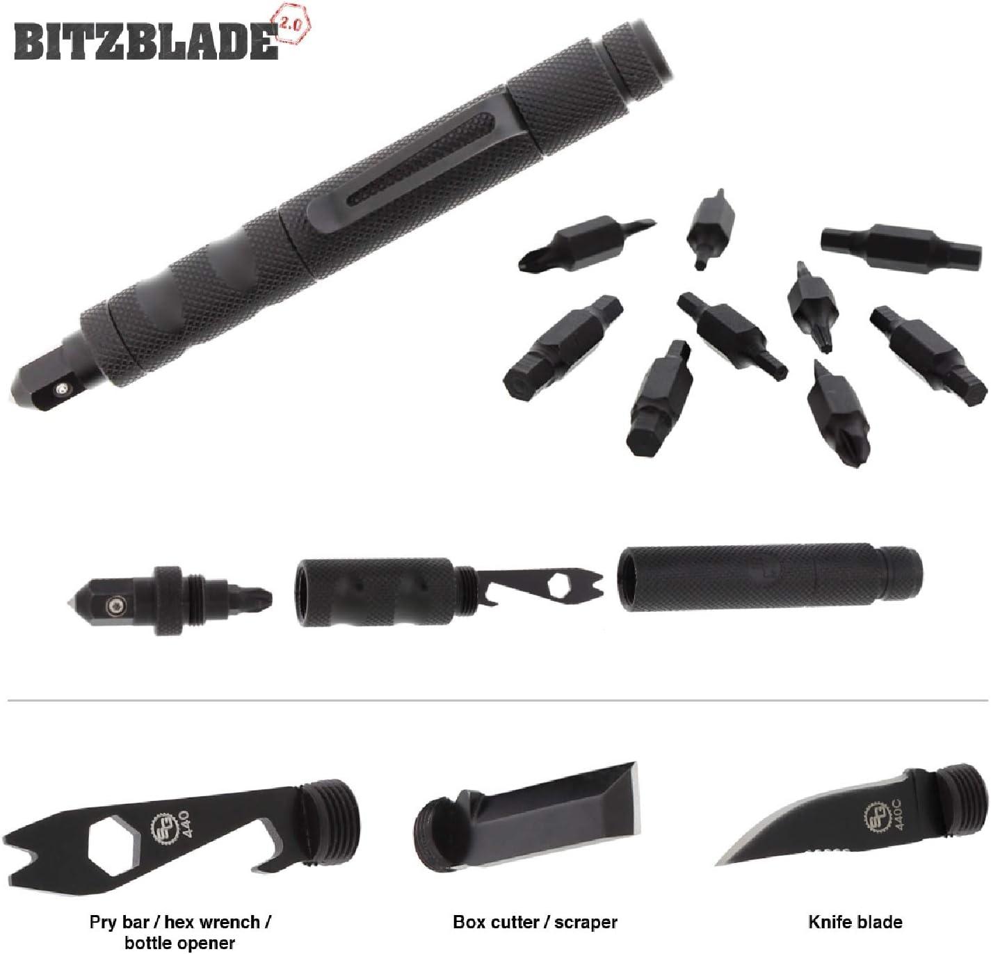 StatGear BITZBLADE-BLK Bitzblade 2.0 Multi-Tool