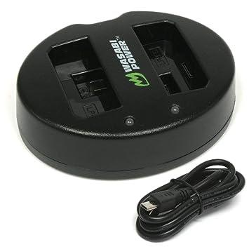 Wasabi Power - Cargador de batería Dual USB para Canon LP-E5 ...