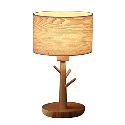 Merveilleux HUACANG Table Lamp, Nordic Tree Branches Bedroom Bedside Lamp, Retro  Carving Wood Art Metal