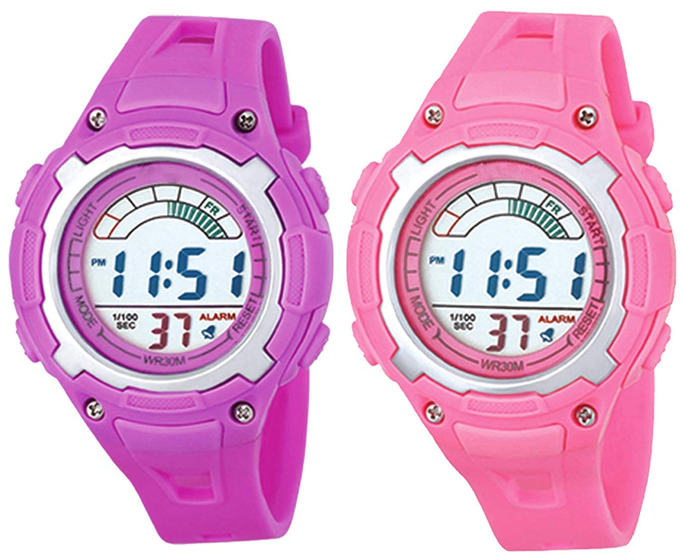 Time Up combo of digital Dial watch for girl and boy