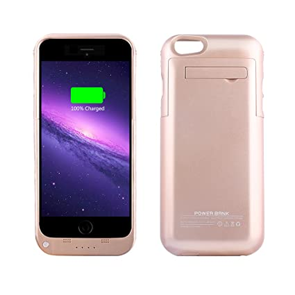 Amazon.com: YHhao - Funda con cargador para iPhone 6/6S ...