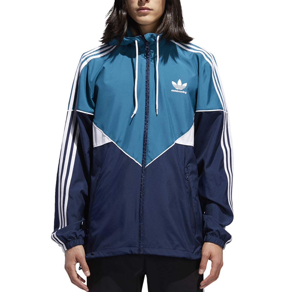 Amazon.com: adidas Originals Mens Premiere Windbreaker ...