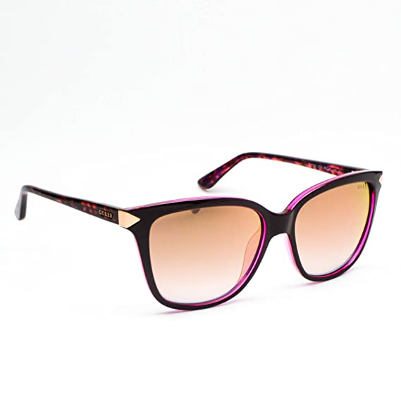 dfa86fbb1b8 GUESS Unisex Adults  GU7551 77U 56 Sunglasses