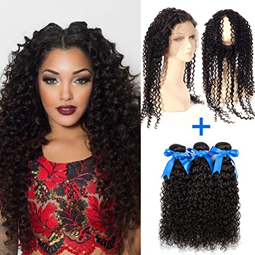 GEFINE-hair-360-Band-Lace-Frontal-Closures-With-Bundles-3pcs-Brazilian-Virgin-Curly-Hair-360-Full-Lace-Frontal-Natural-Color