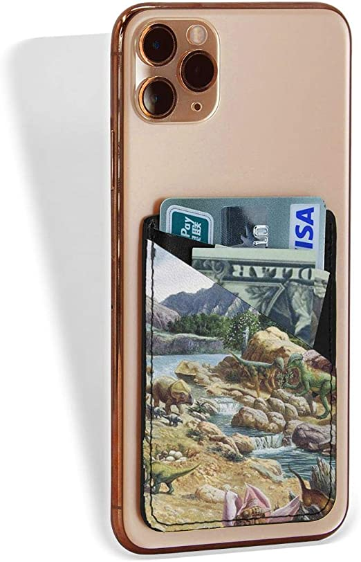 Dinosaur Phone Wallet