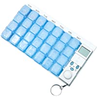 OUNONA Weekly Digital Pill Organizer 7 Days 28