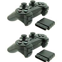 BDFH 2X Voor Sony PS2 2.4G Draadloze Twin Shock Game Controller Joystick Joypad