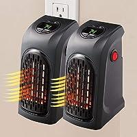 JINGBO 2 pz Mini Portátil Handy Heater 350W Bajo Consumo Estufa Eléctrica Calefactor,…