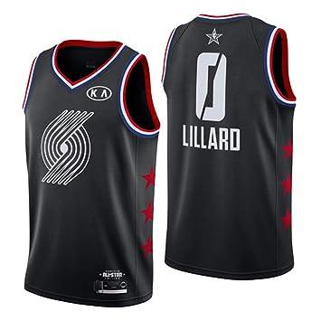 Hombre Mujer Ropa de Baloncesto NBA Portland Trail Blazers 0 ...