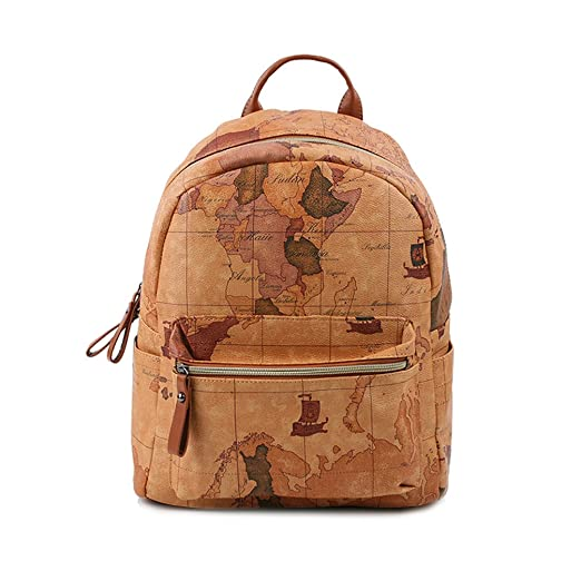eb8d47f73508 Copi Women's Map Print Pattern Collection Fashion Backpack
