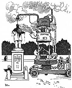 Heath Robinson: Máquina Para Express Crítica de estatuas. Tar ...