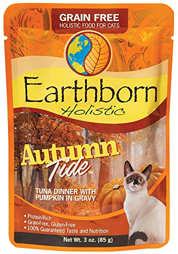 Earthborn Holistic Autumn Tide Grain Free Moist Cat Food, 3