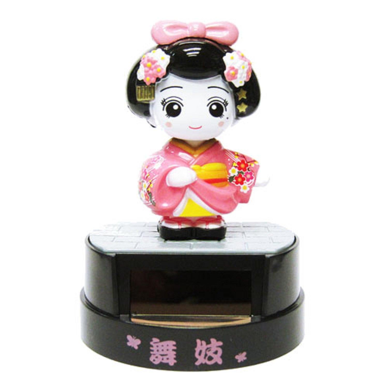 Poupee Solaire du Japon Cat /& 2 Geisha