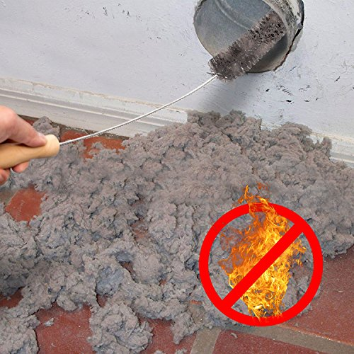 2 Pack Dryer Vent Cleaner Kit Dryer Lint Brush Vent Trap