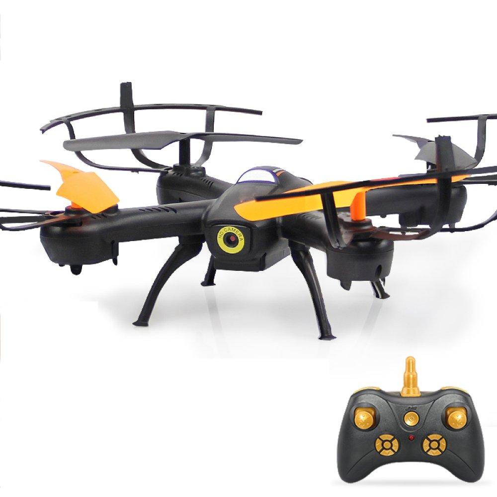 KYOKIM Kabellose Fernbedienung 4-Achsen-Drohne One-Touch-Start/Land Höhenlage Suspension,1Battery