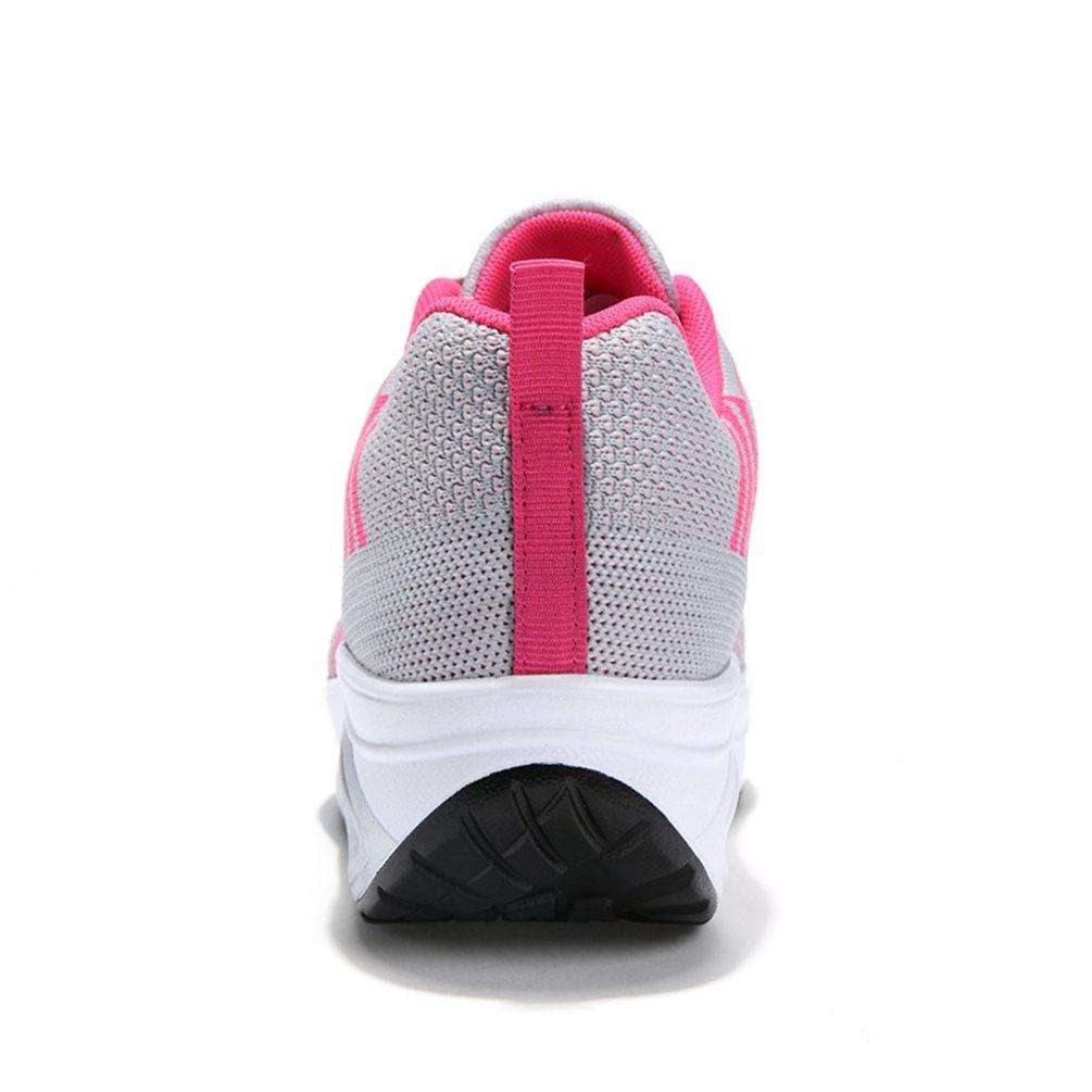 Recommandez la Taille Un de Plus Femme Chaussure Gothique pour Multisport Outdoor Basket Respirant Pied Large Antichoc Sneakers Running Endurance 35-42