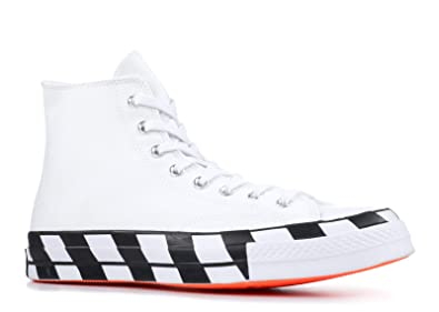 604163e3f02f6 Amazon.com | Converse Mens Chuck 70 Off White Hi White/Cone/Black ...