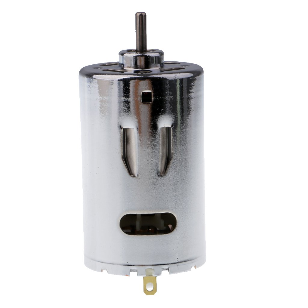 Dovewill DC12V 24V 6000-12000RPM Large Torque Motor with Cooling Fan for DIY Toy Part
