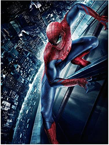 Andrew Garfield 8 Inch X10 Inch Photograph The Amazing Spider Man 2012 High Above City On Side Of Building Pose 2 Kn At Amazon S Entertainment Collectibles Store