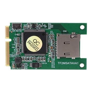 Mcbbigxw Tarjeta Micro SD TF a Mini PCI-E mSATA SSD ...