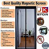 Premium Quality Magnetic Screen Door Full Frame Hook 7 Loop - Keep Bugs