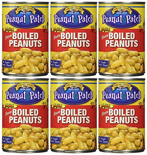 Margaret Holmes 6 Piece Cajun Style Boiled Peanuts, 5.95 Pound (Boiled Can Cajun Peanuts In A)
