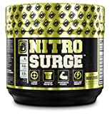 Buy NITROSURGE Pre Workout Supplement - Endless Energy, More Strength, Sharp Focus, & Intense Pumps - Nitric Oxide Booster & Preworkout Energy Powder - 30 Serving, Cherry Limeaide ( 8.5 oz)