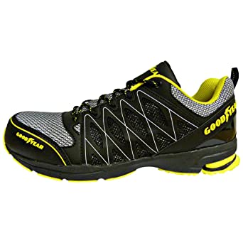 Goodyear GYSHU1502, Zapatillas de Seguridad para Hombre, Negro (Black/Yellow),