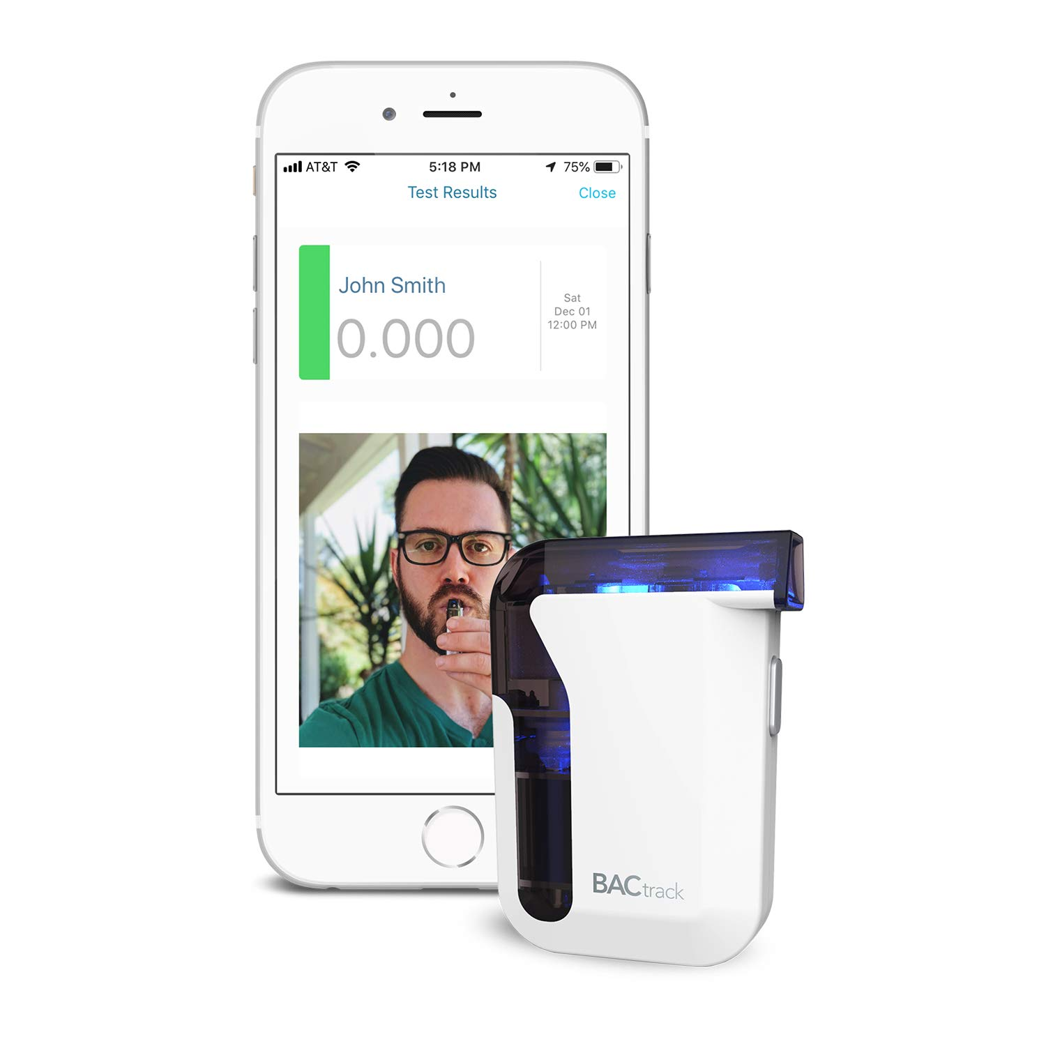 BACtrack View Remote Alcohol Monitoring Pre-Paid Subscription (3 Months) by BACtrack