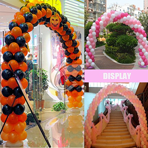 Kwayi Balloon Garland Kit 16Ft Balloon Arch Kit Pink Theme 100pcs Pink /& White Assorted Balloons For Girl Baby Shower Birthday Party Wedding Decoration Centerpiece Backdrop Background