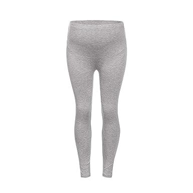 8a7f62c26 Premamá Invierno Leggins Abrigos Pantalones De Mujer Embarazada Color  SóLido Y Pantalones De Embarazo De Maternidad Delgada  Amazon.es  Ropa y  accesorios